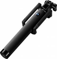 Selfie Stick Extensibil Bluetooth Incorporat Negru