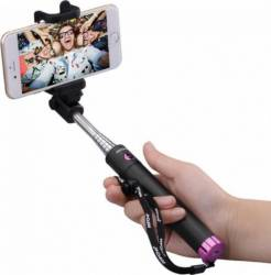 Selfie Stick Mpow iSnap X Bluetooth Roz Gimbal, Selfie Stick si lentile telefon