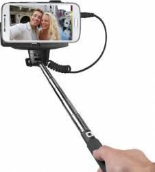 Selfie Stick SBS Shaft Declansator pe maner Negru
