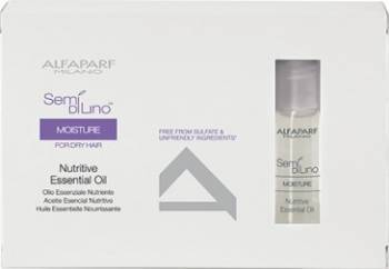 Fiole tratament Alfaparf Semi Di Lino Moisture Essential Oil Tratamente de par