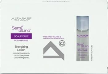 Fiole tratament Alfaparf Semi Di Lino Scalp Energizing Lotion 12 x 10ml Tratamente de par