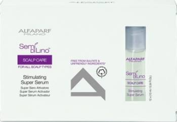 Serum Alfaparf Semi Di Lino Scalp Stimulating Super Serum 12 x 10ml Serum, Defrizante, Spray