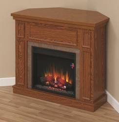 Semineu cu focar electric ClassicFlame NEWCASTLE Embossed Oak Aparate de incalzire