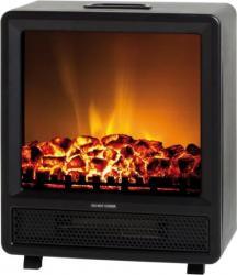 Semineu electric Ardes AR350 1500W 2 nivele de putere Protectie supraincalzire Negru