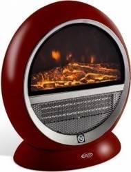 Semineu electric cu rezistenta ceramica Argo Pepita Red 1500W Functie de oscilatie 2 moduri de incalzire Rosu Aparate de incalzire