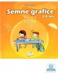 Semne grafice 3-4 ani - Adina Grigore Carti