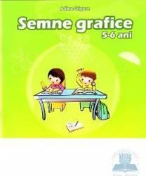 Semne grafice 5-6 ani - Adina Grigore Carti