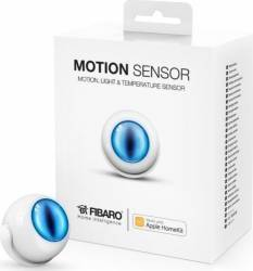 Senzor de miscare Fibaro certificat Apple HomeKit Alb Kit Smart Home si senzori
