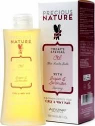 Serum Alfaparf Precious Nature Curly and Wavy Light Oil 100ml Serum, Defrizante, Spray