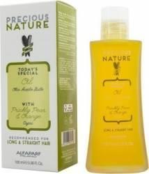 Serum Alfaparf Precious Nature Long and Straight Oil 100ml Serum, Defrizante, Spray