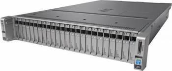 Server Configurabil Cisco C240M4SX Intel Xeon E5-2620v4 noHDD 16GB  2x1200W Sisteme Server