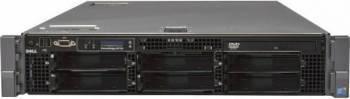 Server DELL PowerEdge R710 Rackabil 2U 2 x Intel Quad Core Xeon E5620 48GB Servere Refurbished Reconditionate