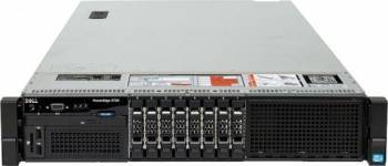 Server DELL PowerEdge R720 Rackabil 2U 2 x Intel Octa Core Xeon E5-2670 32GB 2x480GB SSD Servere Refurbished Reconditionate