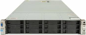 Server HP ProLiant DL380e G8 2 x E5-2450L 16GB 12 x 256GB SSD Servere Refurbished Reconditionate