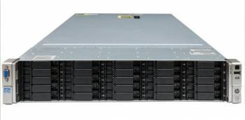 Server HP ProLiant DL380e G8 Rackabil 2U 2 x Intel Octa Core Xeon E5-2450L 128GB Servere Refurbished Reconditionate
