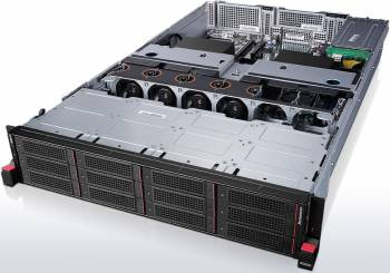 ServerServer Lenovo ThinkServer RD650 E5-2620v3 noHDD 8GB 3 ani garantie Sisteme Server