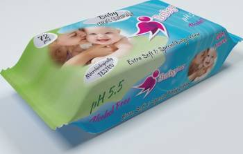 Servetele Umede Copii Baby Fin 72 Buc