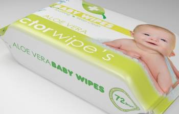 Servetele Umede Copii Doctor Wipes Aloe 72 Buc