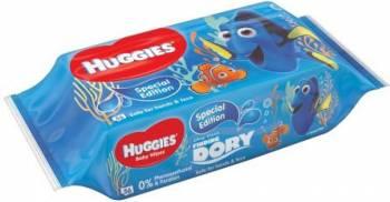 Servetele umede Huggies Disney Dory, 56 buc Scutece si servetele