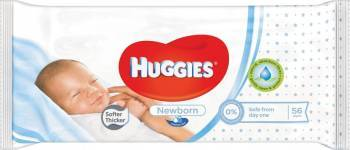 Servetele umede Huggies Newborn, 56 buc Scutece si servetele