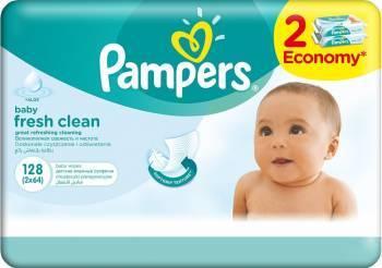 Servetele umede Pampers Baby Fresh 128 buc