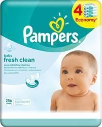 Servetele umede Pampers quattro Baby Fresh 256 buc