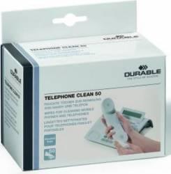 Servetele Umede Pentru Telefoane Fixe Si Mobile, 50 buc/pachet Kituri de curatare