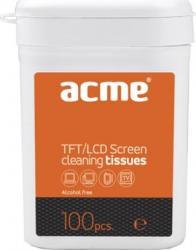 Servetele umede ptr.TFT LCD ACME 100 buc