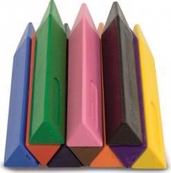 Set 10 creioane groase trunghiulare Melissa and Doug Rechizite
