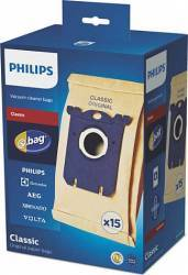 Set 15 saci de aspirator Philips S-Bag FC801903