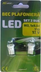 Set 2 becuri auto plafoniera T10 RoGroup LED Becuri si sigurante auto