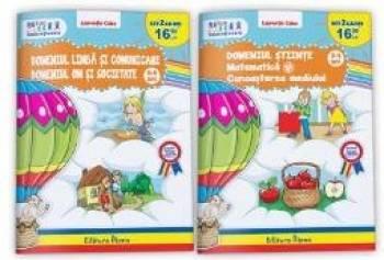 Set 2 domenii 3-4 ani 2 carti - Laurentia Culea