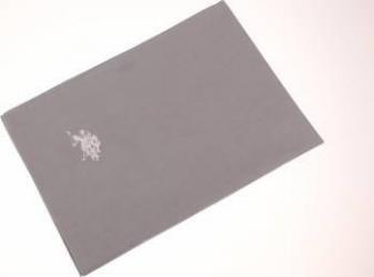 Set 2 fete de perna US Polo 50 x 70 cm Gri Cearceafuri si fete perna