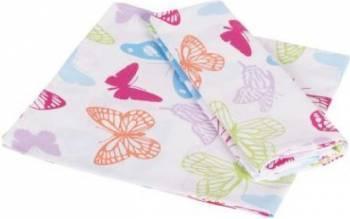 Set 2 fete perna Studio Casa-Butterfly Cyt 45x45 cm Cearceafuri si fete perna