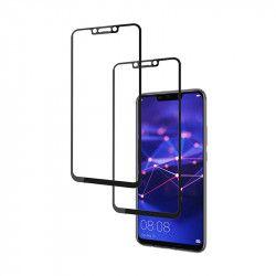 pret preturi Set 2 folii protectie sticla securizata fullsize pentru Huawei Mate 20 Lite negru