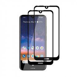 pret preturi Set 2 folii protectie sticla securizata fullsize pentru Nokia 2.2 negru