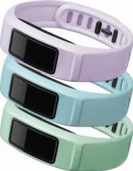 Set 3 Curele Interschimbabile pentru Garmin Vivofit 2 Small Mint Cloud Lilac
