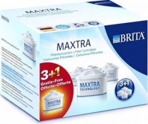 Set 3 filtre MAXTRA + 1 GRATUIT - Brita Cani filtrante si Accesorii