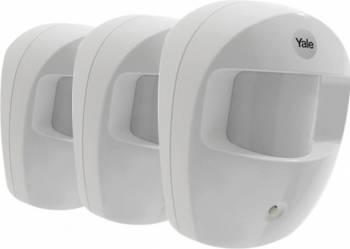 Set 3 senzori miscare OPIR-SR pentru Yale SR-3200i Kit Smart Home si senzori