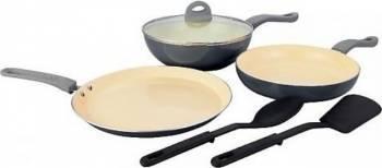 Set 3 tigai + 2 spatule Heinner Alegria HR-HX-06S 1PC Bonus Fairy Lemon 450ml