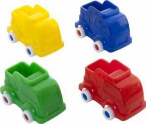 Set 4 camioane Miniland Machete