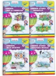 Set 4 domenii 4-5 ani 4 carti - Laurentia Culea