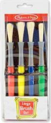 Set 4 pensule groase Melissa and Doug Rechizite