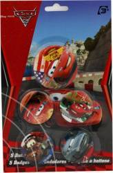 Set 5 Insigne Disney Cars
