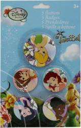 Set 5 Insigne Disney Fairies