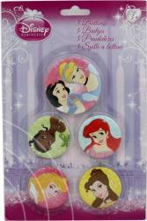 Set 5 Insigne Disney Princess