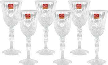 Set 6 Pahare Vin cu Picior RCR Melodia  Vesela pentru masa