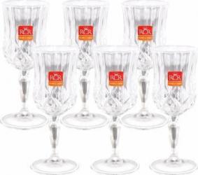 Set 6 Pahare Vin cu Picior RCR Opera  Vesela pentru masa