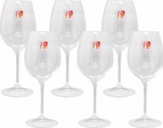 Set 6 Pahare Vin Rosu cu Picior RCR Daily  Vesela pentru masa