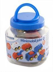 Set 6 vehicule 12 cm - Miniland Machete